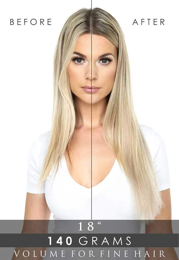 Deluxe Clip-In Hair Extensions 18"