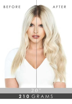 "20"" Double Hair Set Clip-In Extensions 