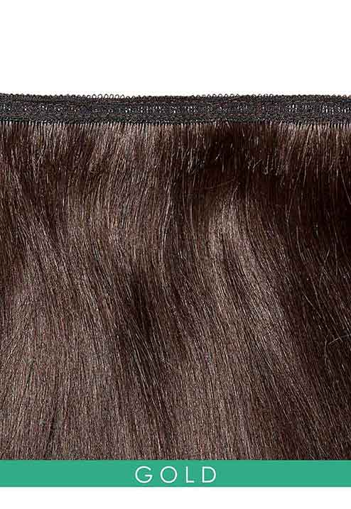 Gold Weft Hair Extensions by Beauty Works
