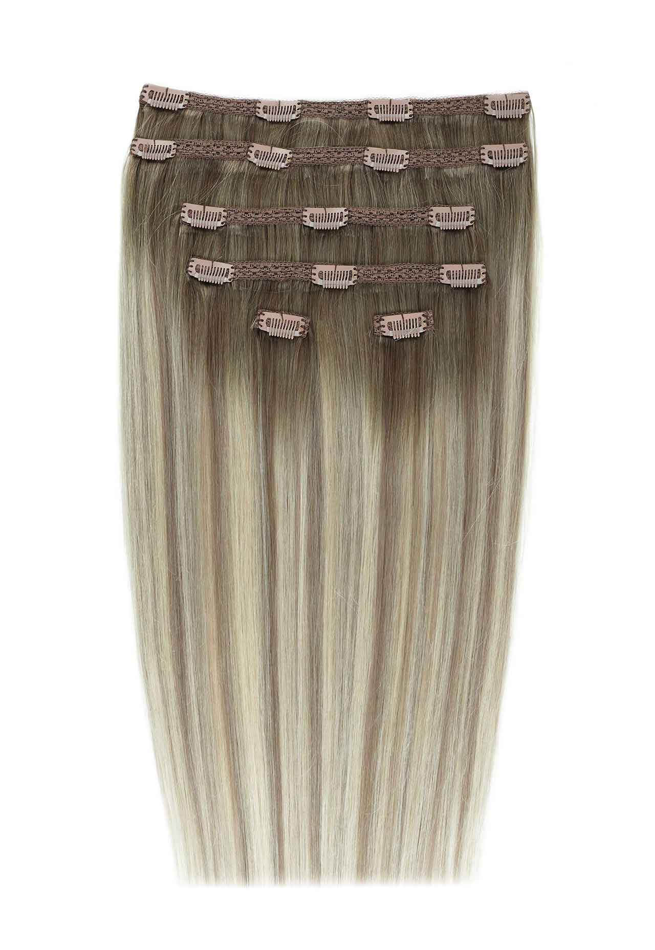 Ash Tone Clip-In Extensions I Beauty Works