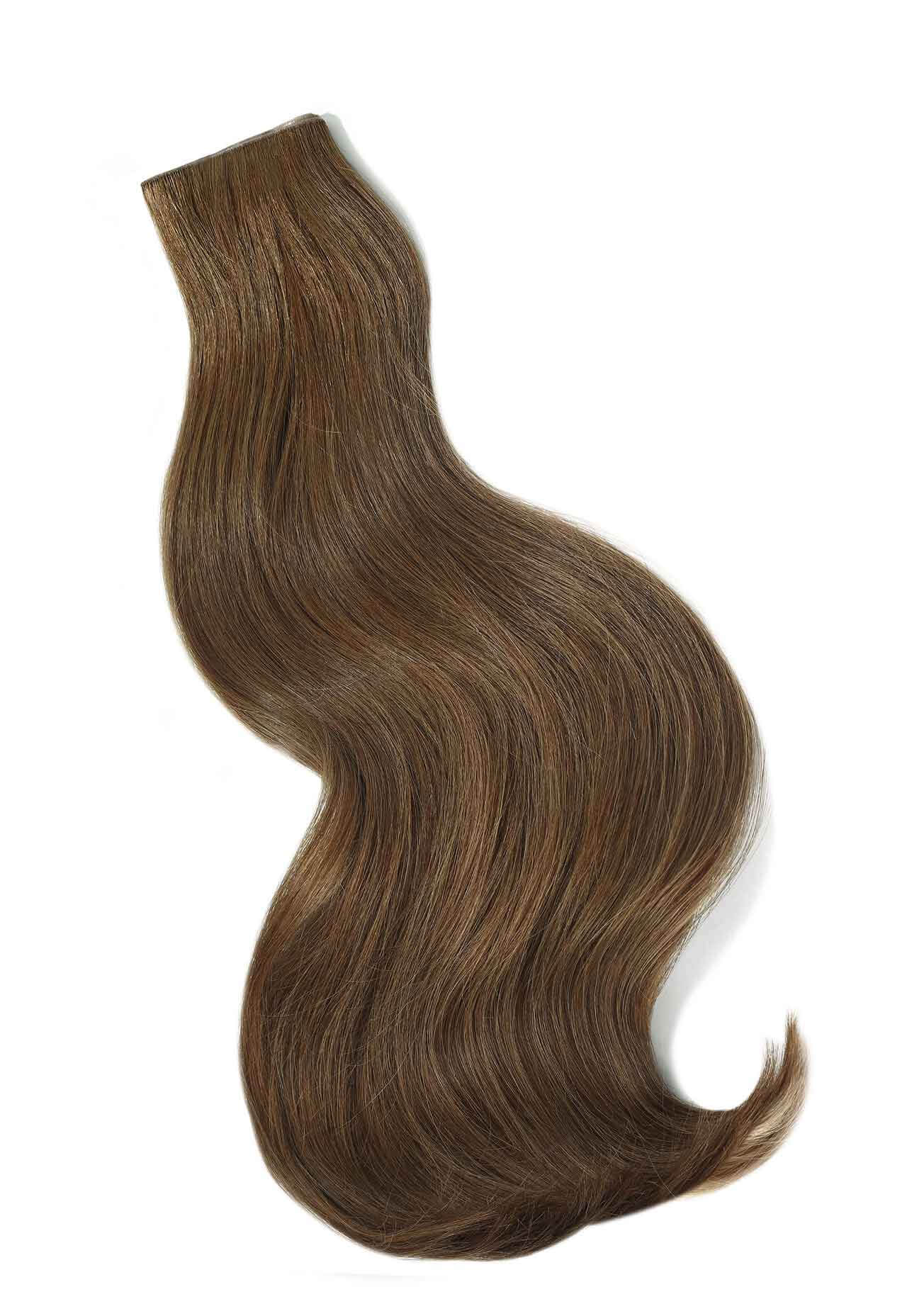 Brunette Weft Extensions I Beauty Works