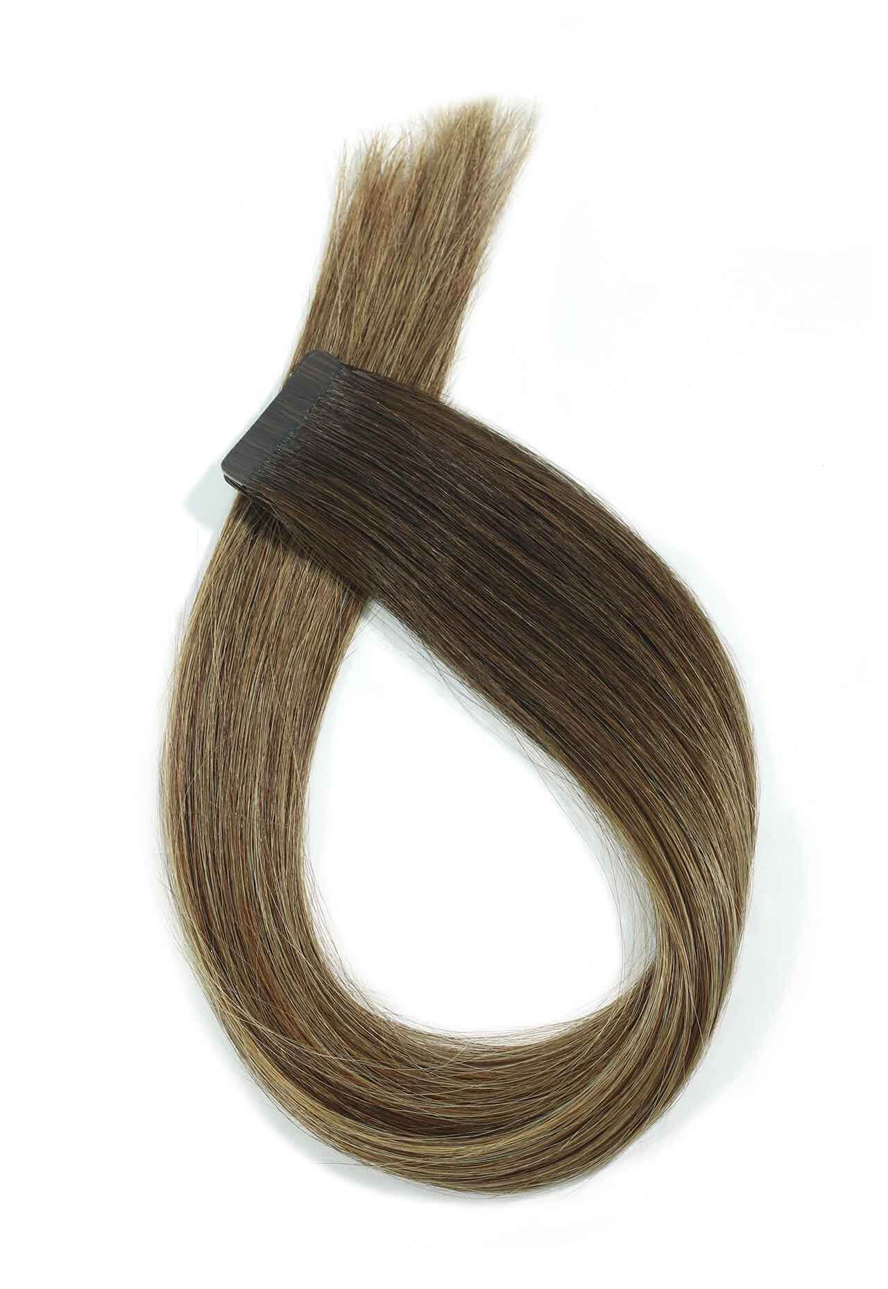 Colour Melt & Rooted Blend Tape Extensions I Beauty Works
