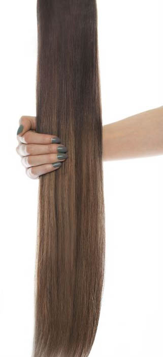Image of 16 Celebrity Choice® - Weft Hair Extensions - Brond'mbre""