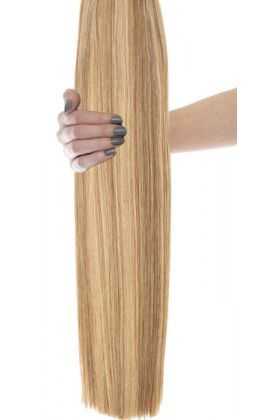 "16"" Celebrity Choice - Weft Hair Extensions - Honey Blonde 6/24"