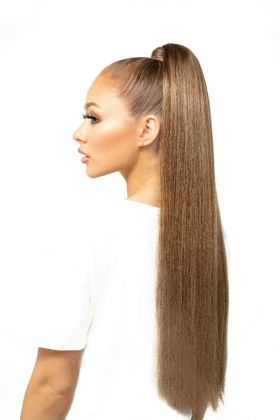 "26"" Super Sleek Invisi®-Ponytail - High Contrast Warm"