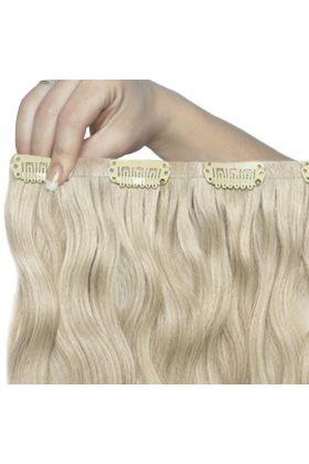 "18"" Beach Wave Double Hair Set - Barley Blonde"