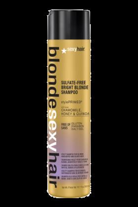 Sexy Hair Blonde Bright Blonde Shampoo 1L