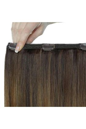 "18"" Double Hair Set - Brond'mbre"