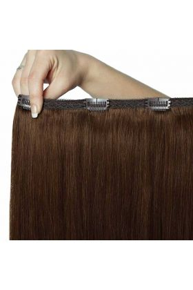 "20"" Double Hair Set - Chocolate 4/6"