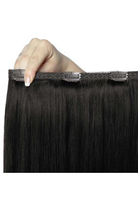 "20"" Double Hair Set Natural Black"