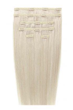 """20"""" Double Hair Set - Pure Platinum 60A"""
