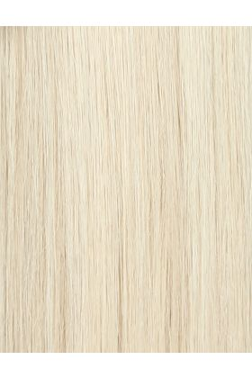 "18"" Celebrity Choice - Weft Hair Extensions - Pure Platinum 60a"