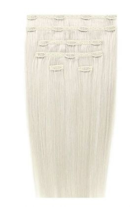 "18"" Double Hair Set - Ivory"