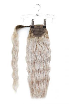 "20"" Invisi®-Ponytail Beach Wave - Scandinavian Blonde"