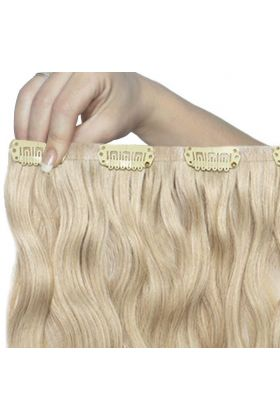 "22"" Beach Wave Double Hair Set - Bohemian Blonde"