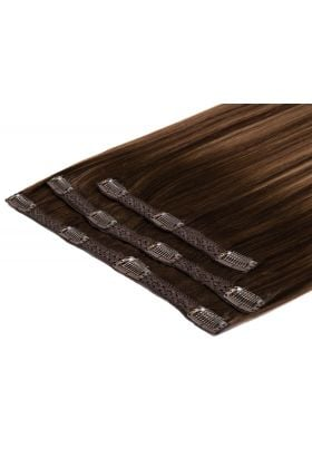 "20"" Deluxe Remy Instant Clip-In  Extensions - Brond'mbre"