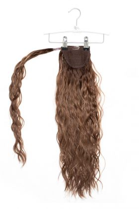 """20"""" Invisi®-Ponytail Beach Wave -  Brond'mbre"""