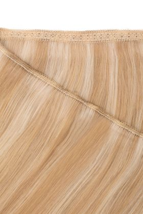 "18"" Gold Double Weft  613/16- California Blonde"