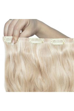 "18"" Beach Wave Double Hair Set - Champagne Blonde"