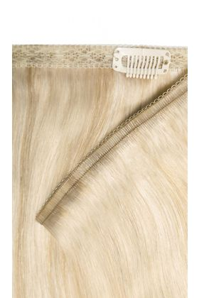 "18"" Double Hair Set Weft - Champagne Blonde"