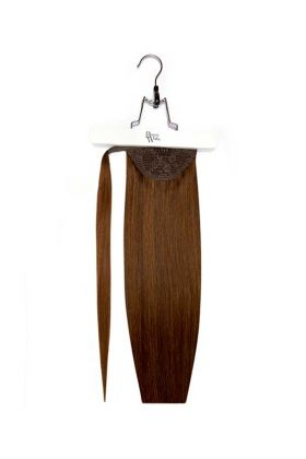 "18"" Super Sleek Invisi®Ponytail -  Chocolate"