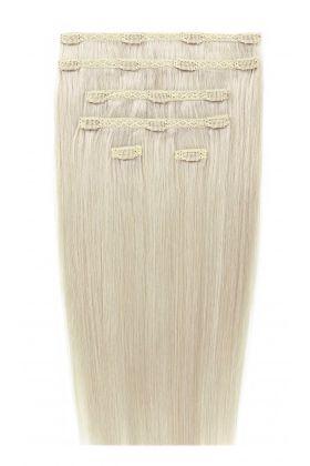 """18"""" Double Hair Set - Pure Platinum 60a"""