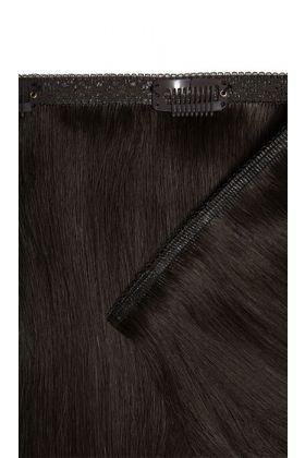 "18"" Double Hair Set Weft - Ebony"