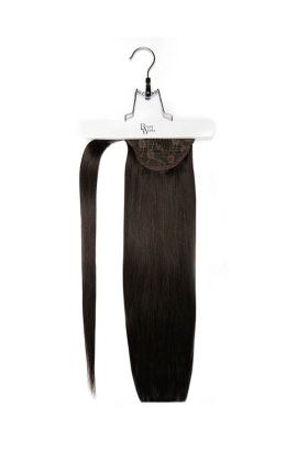 "18"" Super Sleek Invisi®Ponytail -  Ebony"