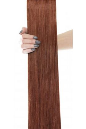 "18"" Celebrity Choice -Weft Hair Extensions - Amber 30"
