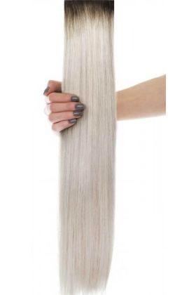 "18"" Celebrity Choice - Weft Hair Extensions - Arctic Blonde"
