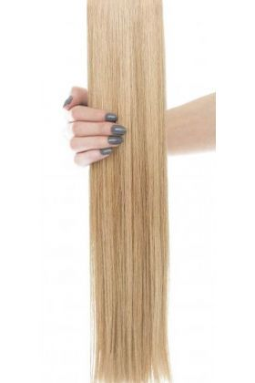 """20"""" Gold Double Weft  - Blonde Bombshell 14/24"""