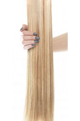"18"" Celebrity Choice - Weft Hair Extensions - California Bonde 613/16"