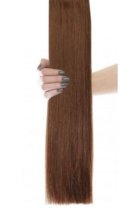 "18"" Celebrity Choice - Weft Hair Extensions - Caramel 6"