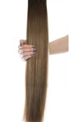 "18"" Celebrity Choice - Weft Hair Extensions - Caramelized"