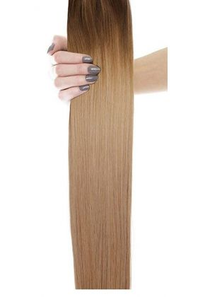 "18"" Gold Double Weft - High Contrast Warm"