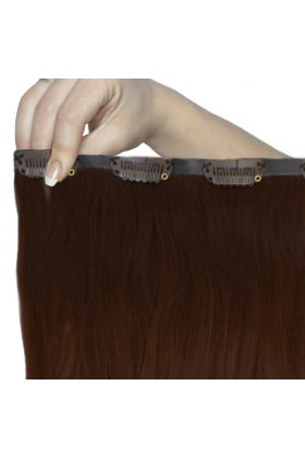 """18"""" Beach Wave Double Hair Set - Hot Toffee"""
