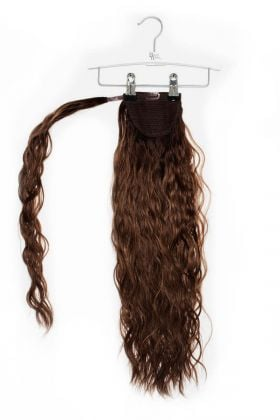 """20"""" Invisi®-Ponytail Beach Wave - Hot Toffee"""