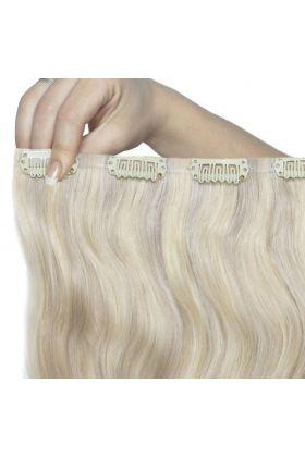 """22"""" Beach Wave Double Hair Set - Iced Blonde"""