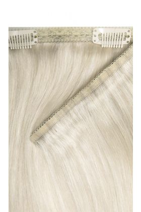 "18"" Double Hair Set Weft - Iced Blonde"