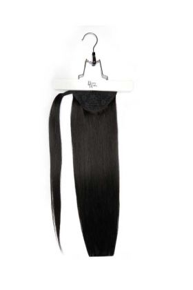 "18"" Super Sleek Invisi®Ponytail -  Jet Set Black"