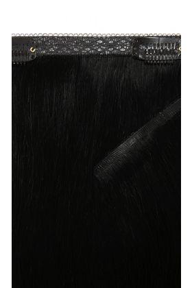"18"" Double Hair Set Weft - Jet Set Black"