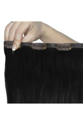 "18"" Beach Wave Double Hair Set - Jet Set Black"