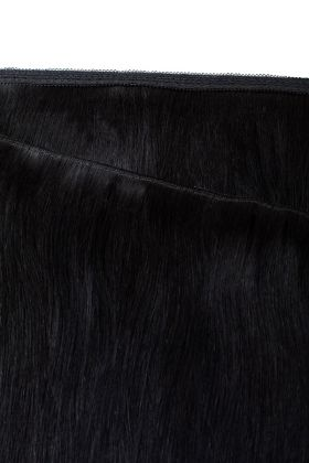 "18"" Gold Double Weft - Jet Set Black 1"