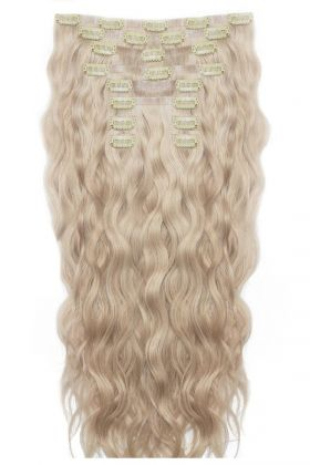 "22"" Beach Wave Double Hair Set - L.A. Blonde"