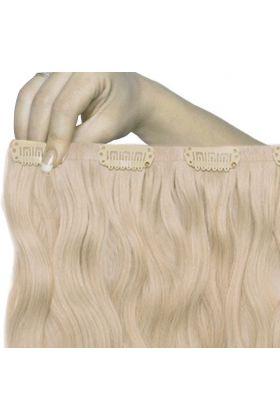 "18"" Beach Wave Double Hair Set - L.A. Blonde"