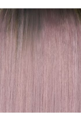 "18"" Gold Double Weft - Metallic Mauve"
