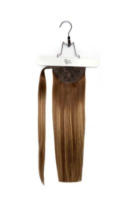 "18"" Super Sleek Invisi®Ponytail -  Mocha Melt"