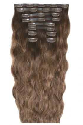 "18"" Beach Wave Double Hair Set - Mocha Melt"