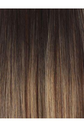 "20"" Celebrity Choice - Weft Hair Extensions - Mocha Melt"