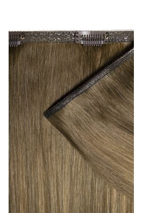 """18"""" Double Hair Set Weft - Mocha Melt"""